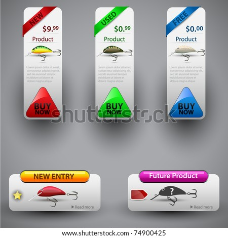 Price tag for product sale. Easy to remove | change | replace any part, color. Vector illustration. - stock vector