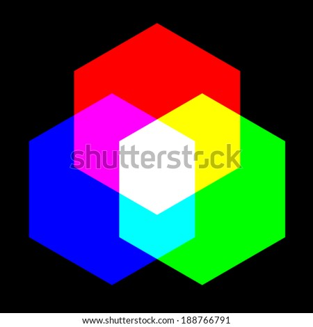 Primary color - stock vector