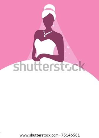 Princess Bride - stock vector