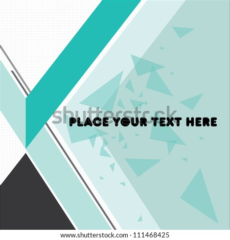 Print/Cover Design Template/Layout Design/Background/Graphics - stock vector