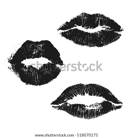 Lips Vector Black Lips Stock Images, Roy...