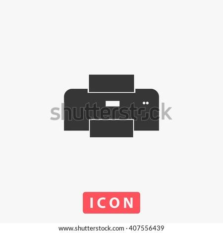 printer Icon. printer Icon Vector. printer Icon Art. printer Icon eps. printer Icon Image. printer Icon logo. printer Icon Sign. printer Icon Flat. printer Icon design. icon app. icon UI. icon web - stock vector