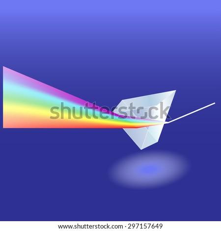 prism - stock vector