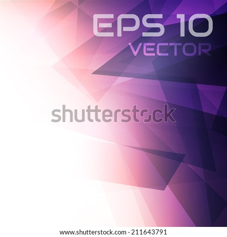 Prism Background - stock vector