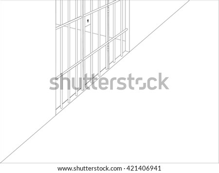 Prison cell outside