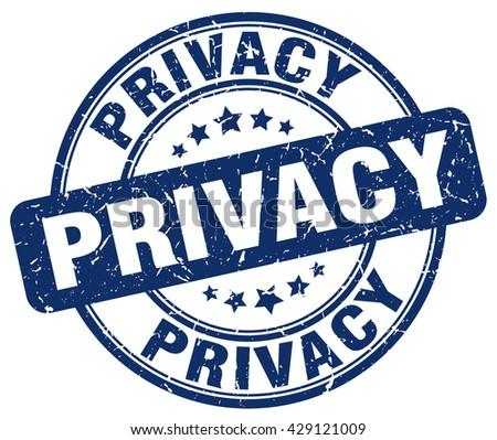 privacy blue grunge round vintage rubber stamp.privacy stamp.privacy round stamp.privacy grunge stamp.privacy.privacy vintage stamp. - stock vector