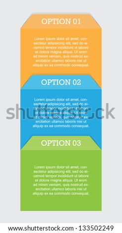 Process Chart - stock vector
