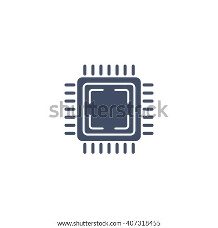 processor Icon, processor Icon Eps10, processor Icon Vector, processor Icon Eps, processor Icon Jpg, processor Icon Picture, processor Icon Flat, processor Icon App, processor Icon Web - stock vector