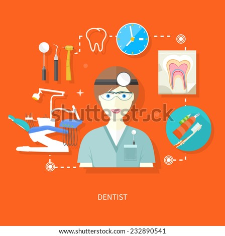 Dentist vector stock photos illustrations and vector art