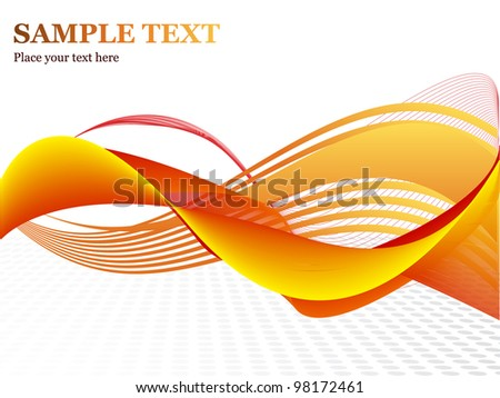 Professional abstract vector - stock vector