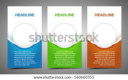 Professional and designer cards. Variety of uses, collection vector of modern color business templates card with buttons - stock vector