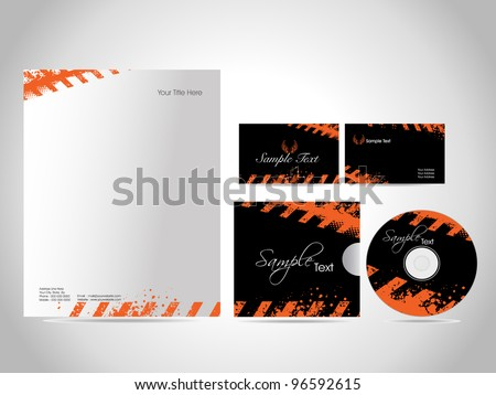 Professional Corporate Business Kit or Identity Kit, Vector Illustration, very easy to edit as per need. - stock vector