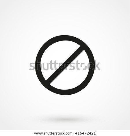 prohibition icon vector. prohibition icon Flat. prohibition icon Eps. prohibition icon Symbol. prohibition icon Web. prohibition icon logo. prohibition icon Image. prohibition icon Sign - stock vector