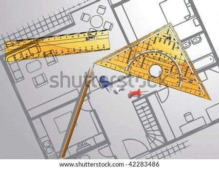 project - stock vector
