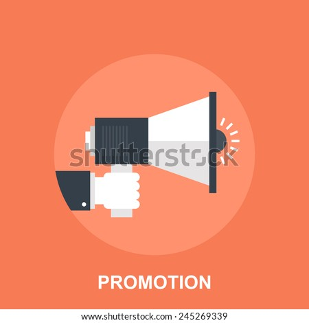 Promotion - stock vector