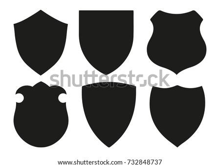 protect guard shield plain line concept stock vector 732848737 rh shutterstock com shield vector logo shield vector png