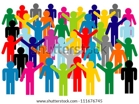protest	 - stock vector