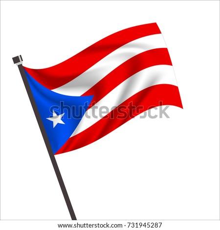puerto rico flag puerto rico icon stock vector hd royalty free rh shutterstock com  free clipart of puerto rican flag