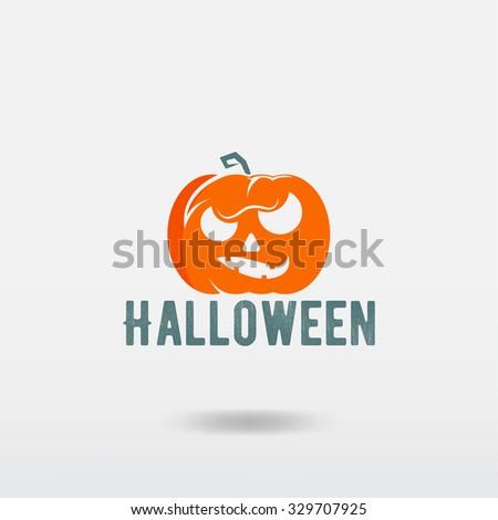 Pumpkin for Halloween - stock vector