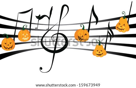 Halloween Music Stock Images, Royalty-Free Images & Vectors ...