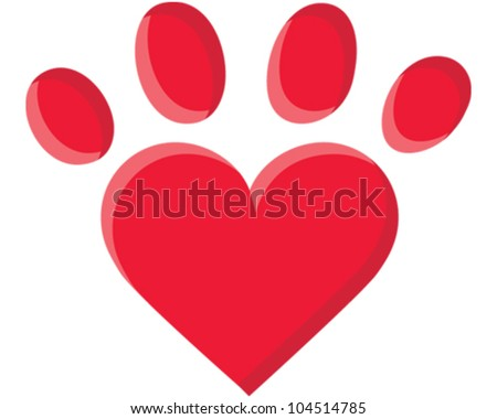 Puppy Love - stock vector