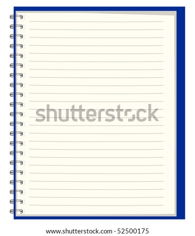 Pure notebook for records