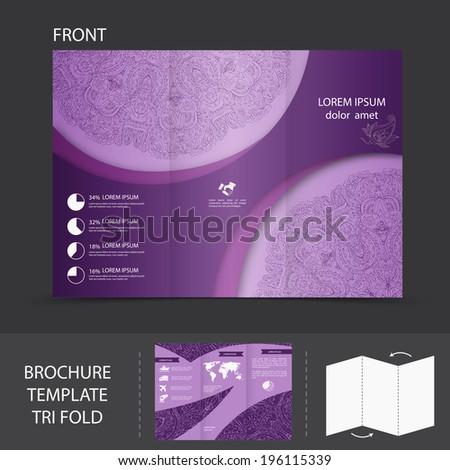 cardboard brochure holder template - perfume box design stock vector 155510246 shutterstock