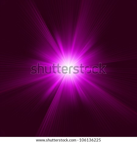 Purple abstract explosion. EPS 8 vector file included - stock vector