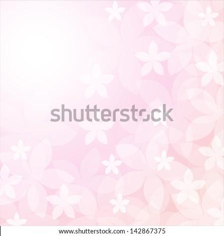 Purple floral vector background. wedding invitation card - stock vector