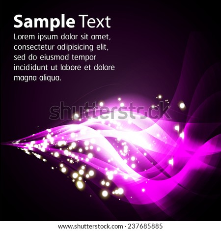 Purple Light Abstract Technology background for computer graphic website internet and business. text box. Brochure. card. wave.