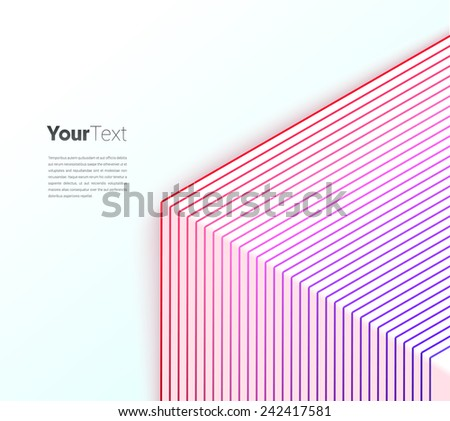 Purple - Magenta Transition. Scalable Eps10 Vector - stock vector
