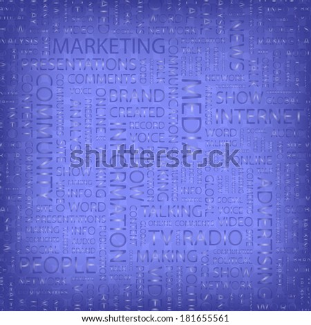 Purple marketing typo pattern