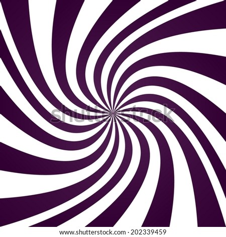 Purple twirl pattern background - vector version - stock vector