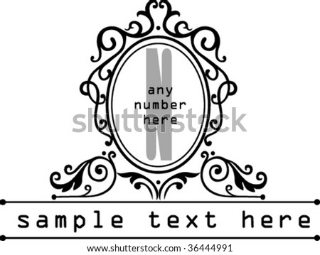 put any text numbers into this stock vector 36444991 shutterstock