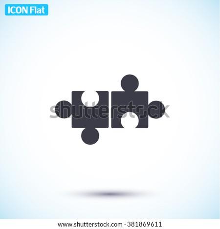 Puzzles Icon, puzzles icon flat, puzzles icon picture, puzzles icon vector, puzzles icon EPS10, puzzles icon graphic, puzzles icon object, puzzles icon JPEG, puzzles icon picture, puzzles icon image - stock vector