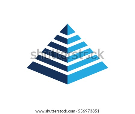 Pyramid Logo Stock Images, Royalty-Free Images & Vectors