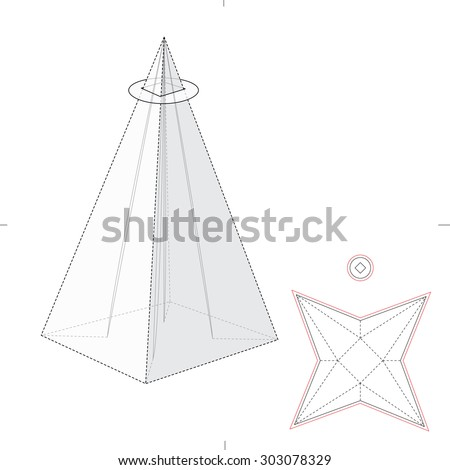 Pyramid Chart Icon Stock Vector 165160907 - Shutterstock