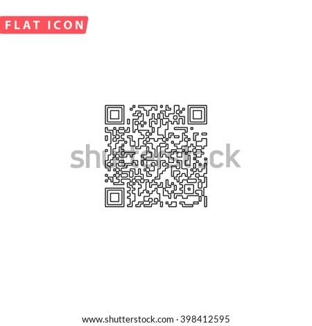 Qr code Icon Vector. Qr code Icon JPEG. Qr code Icon Picture. Qr code Icon Image. Qr code Icon Graphic. Qr code Icon Art. Qr code Icon JPG. Qr code Icon EPS. Qr code Icon AI. Qr code Icon Drawing - stock vector