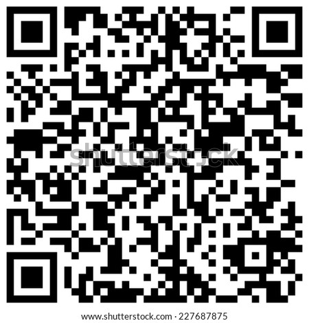 "QR code with text ""We wish you a merry Christmas and happy New Year!"""