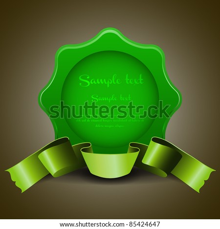 Quality Labels - stock vector