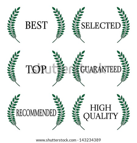 Quality Seals 1 - stock vector
