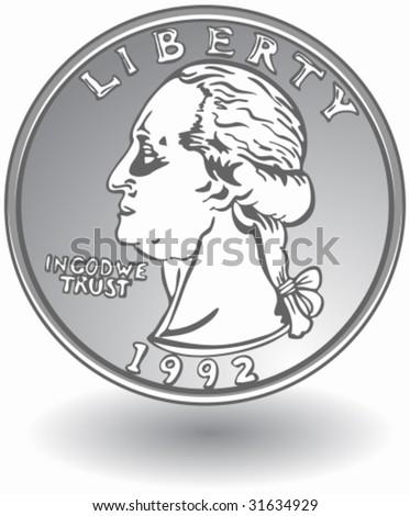 stock vector quarter 31634929 quarter coin stock vectors, images & vector art shutterstock,A Penny In Fuse Box