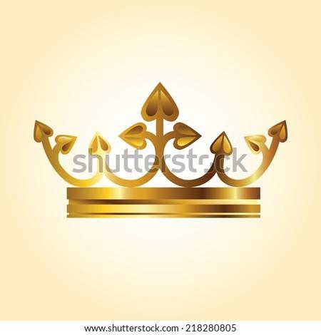 Queen Crown. Vector - stock vector