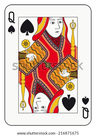 Queen Of Spades Stock Images, Royalty-Free Images ...