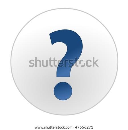 question mark - stock vector