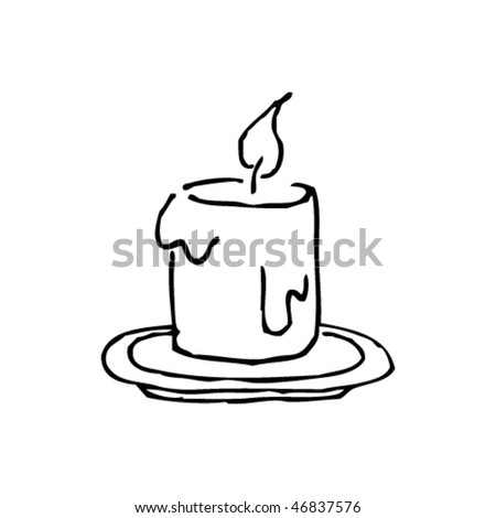 Dripping candle Stock Photos  Illustrations  and Vector ArtDripping Candle Drawing