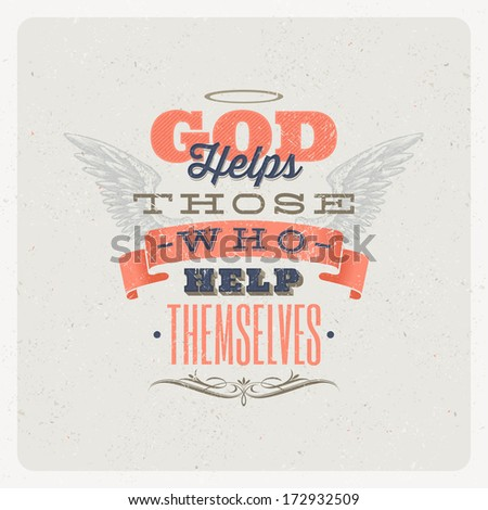 Essay writing on god helps those who help themselves & Best ...