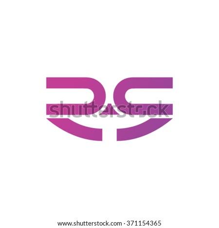 R Logo Design - stock vector