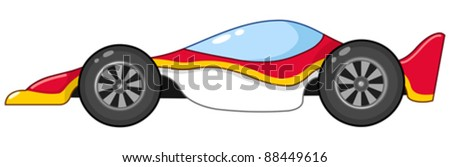 Race car - stock vector