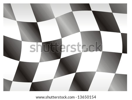 race flag bright squares great for texture - stock vector